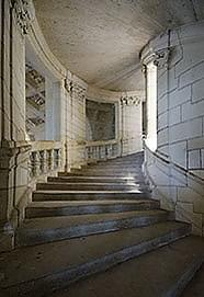 Central Shaft at Château Chambord