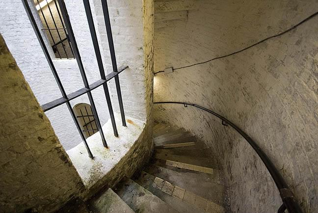 Staircase at the Grand Shaft