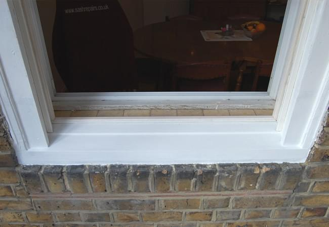 Sash window repairs window repairs specialist for Window sill replacement